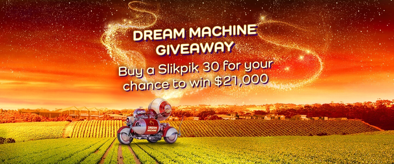 Dream Machine Giveaway