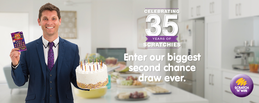 Campaign 14: Celebrating 35 years Scratch & Win