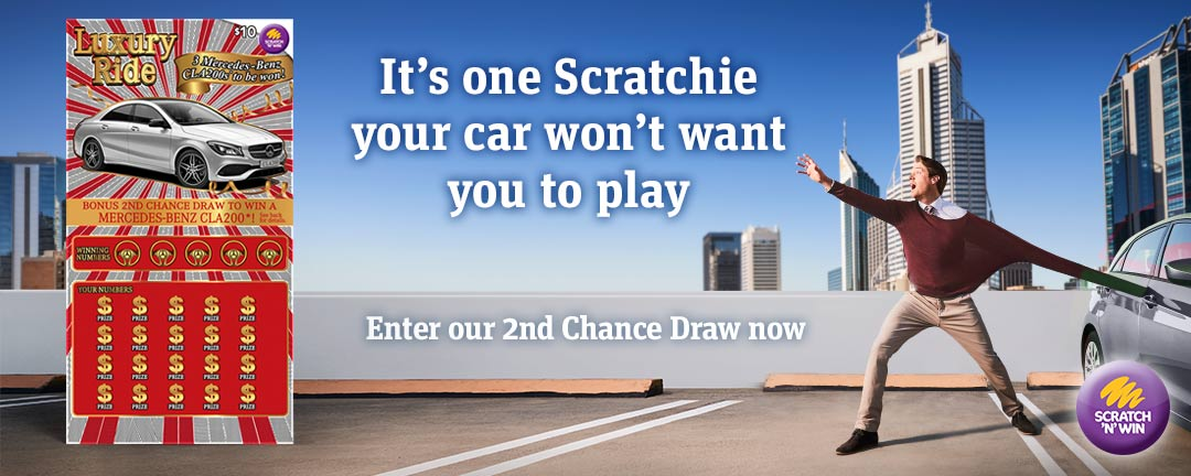 SnW Luxury Ride - Second Chance Draw