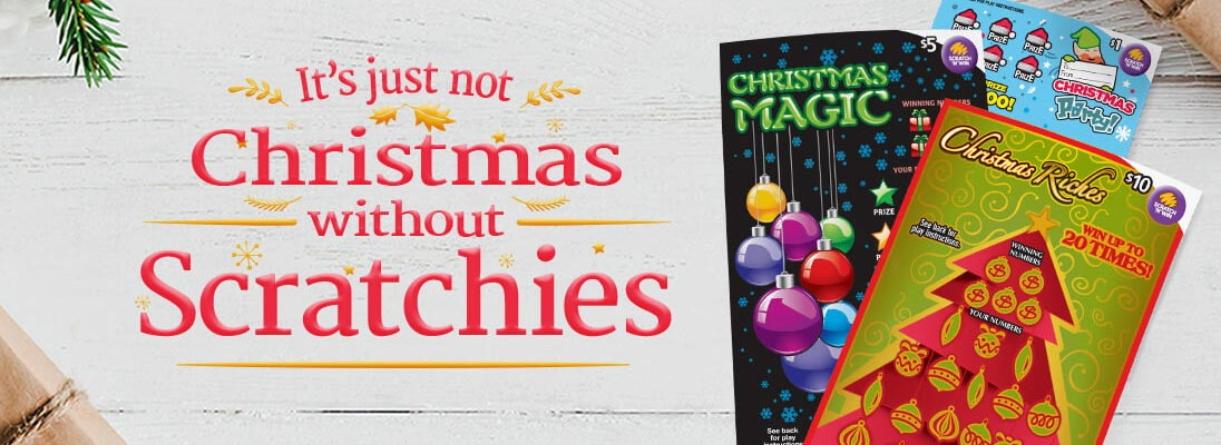 Christmas scratchie winner blog header