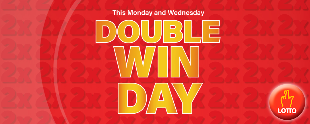 Double Win Day - Monday and Wednesday