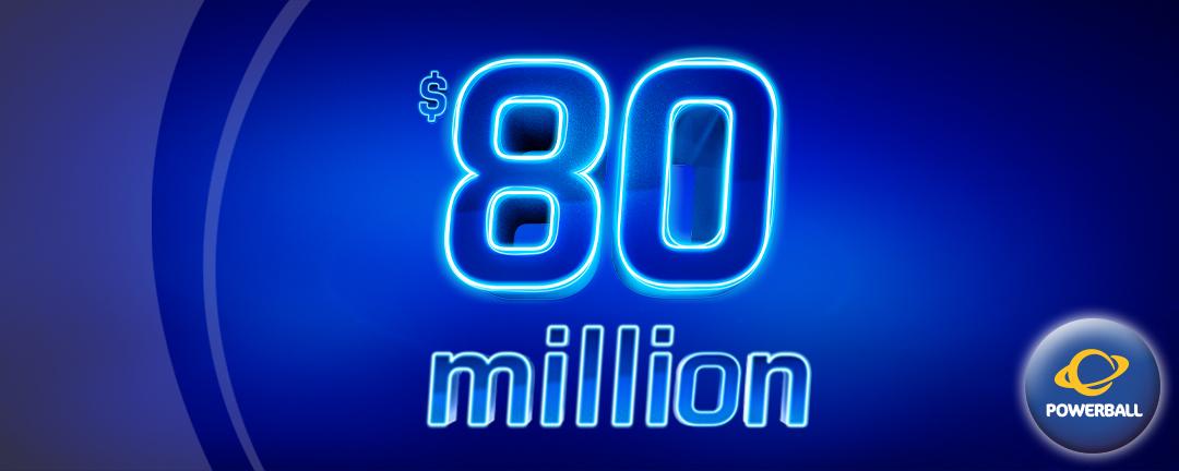 Games: Powerball $80M app banner