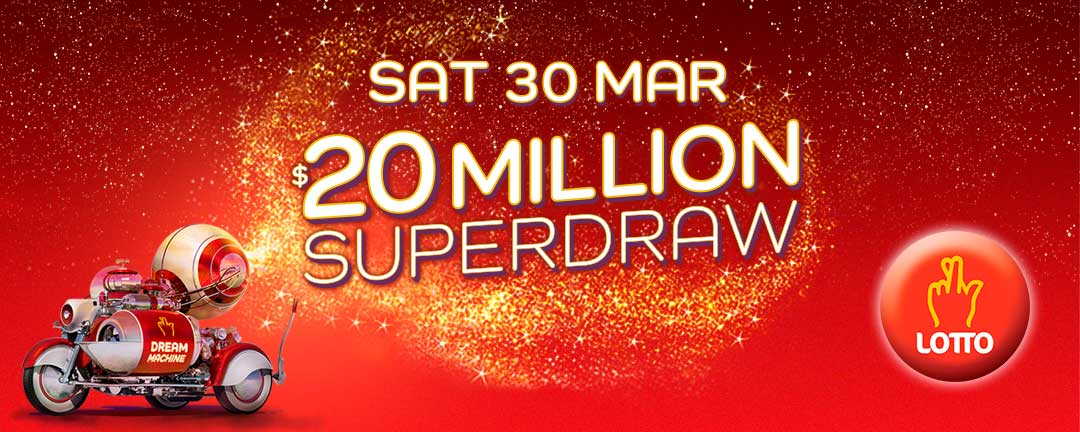 March Superdraw 2019 app banner