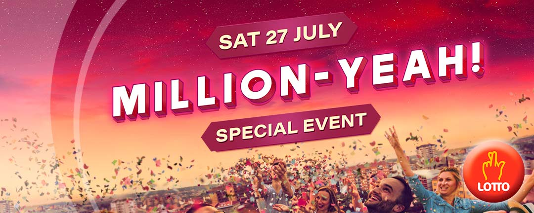 Million-Yeah 2019 app banner