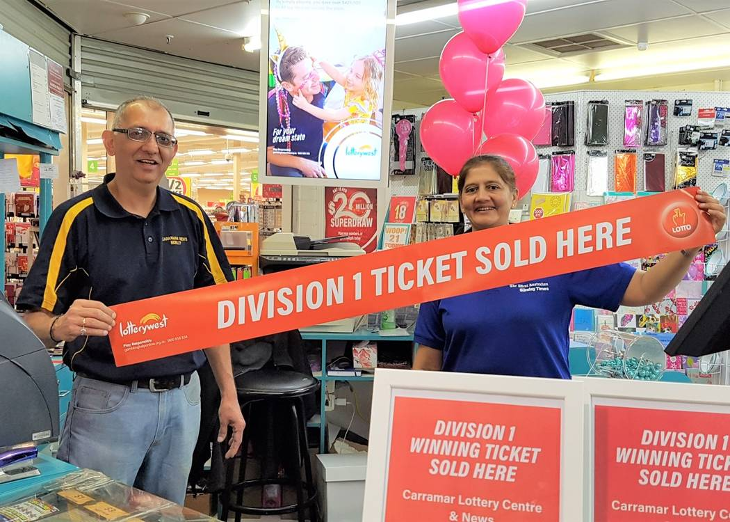 Milan and Tina celebrating their second Saturday Lotto Division One in a row
