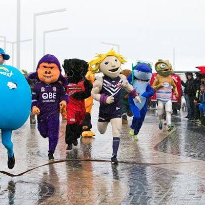 2017 WA Day Mascot Race!