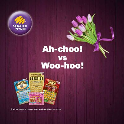 Gift a scratchie this Mother's Day