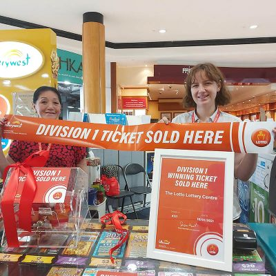Lotto luck from Broome to Booragoon
