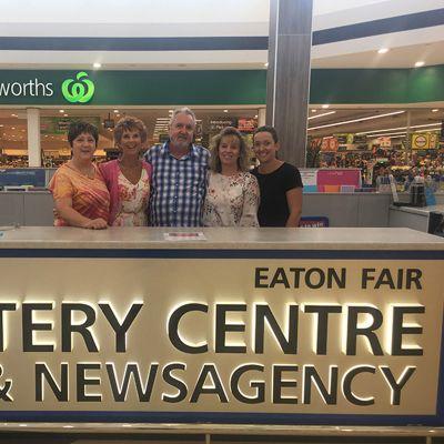 Lotto luck strikes in Eaton