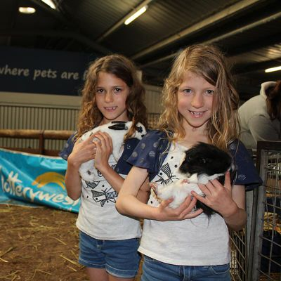 Making furry friends at Perth Royal Show's Petstock Nursery