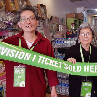OZ Lotto Division One tally grows