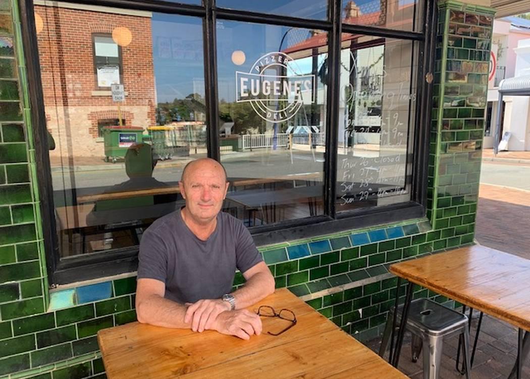 Tony Cuccovia, Eugene's Pizzeria