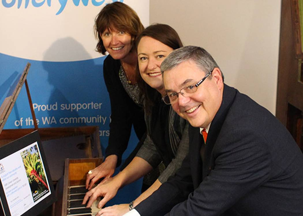 Tune up for Australia's first piano — Lotterywest