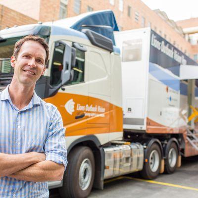 Visionary van hits the road