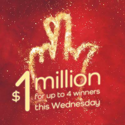 Million dollar Wednesday